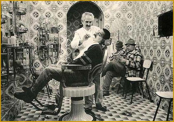 Barbeiros de antigamente...