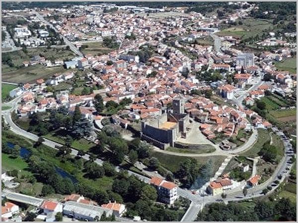 Vista aérea do Sabugal