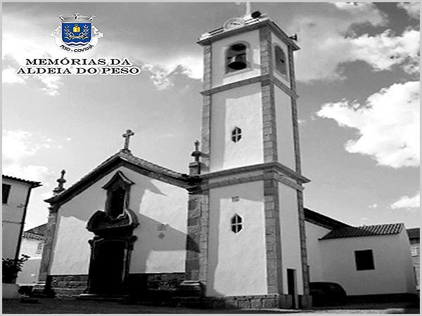 Igreja matriz da freguesia da Aldeia do Peso, no concelho da Covilhã