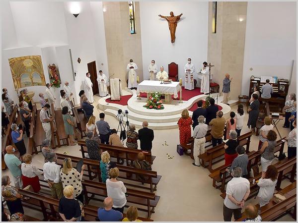 Padre José Gusmão  celebrou as Bodas de Ouro de Sacerdócio, na Eucaristia nas Festividades dos Apóstolos São Pedro e São Paulo