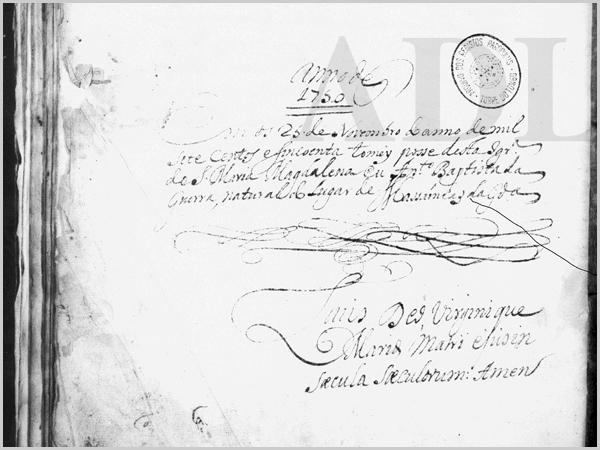 Tomada de posse do prior António Batista da Guerra