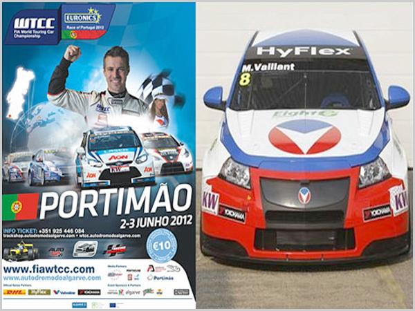Tiago Monteiro «defronta» Michael Vaillant no Autódromo de Portimão no Algarve