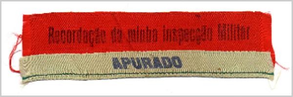 Fita da inspecção de Franklim Costa Braga