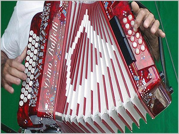 A indispensável concertina para os bailes