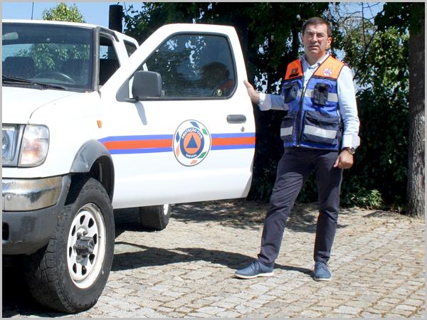 Vítor Proença é o responsável concelhio da Protecção Civil
