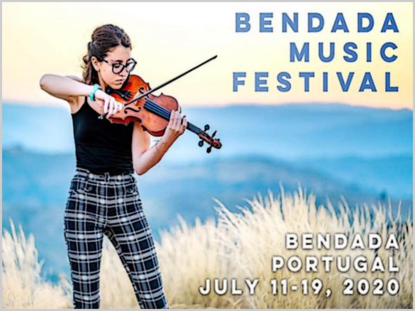 É assim até 31 de Agosto... Na Bendada, este ano, um festival «especial»