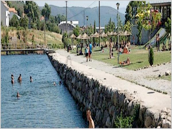 Praia fluvial de Unhais já está operacional