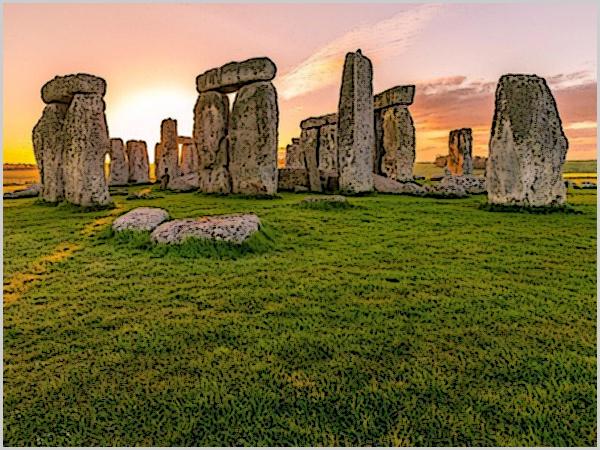 Stonehenge - Há 2.500 anos, as rochas (enormes) foram transportadas 24 km (mas... como - há 4.500 anos??)