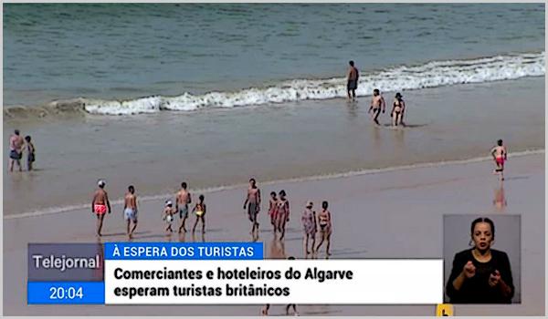 O Algarve já começou a receber turistas britânicos