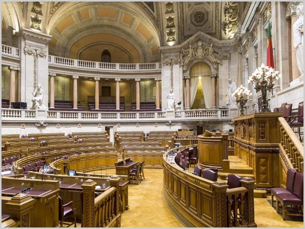 Assembleia da República vazia