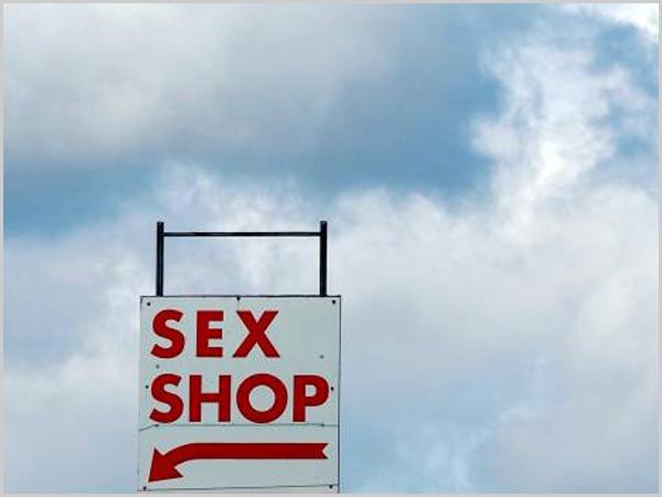 Sátira inclui uma Sex Shop