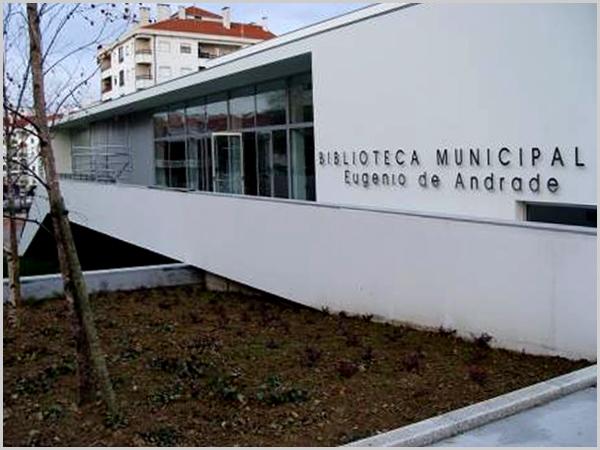Biblioteca Eugénio de Andrade no Fundão