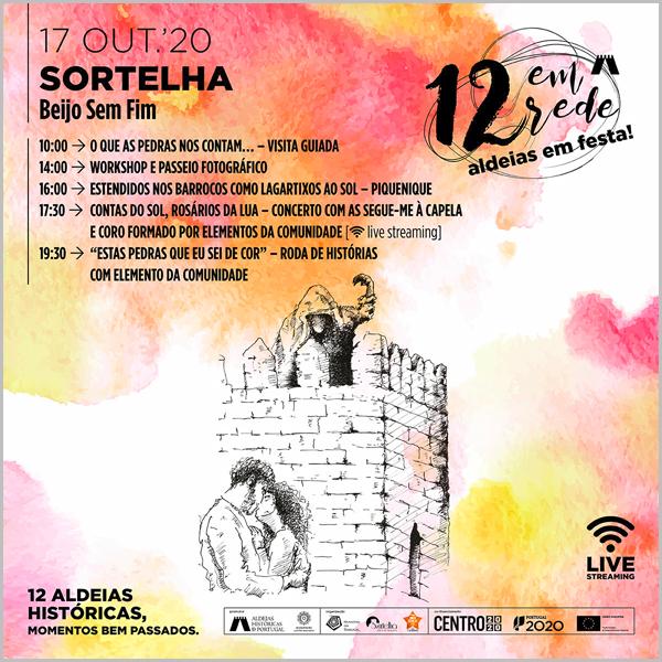 Lenda do Beijo sem Fim em Sortelha - Ciclo 12 Aldeias Histórias em Festa