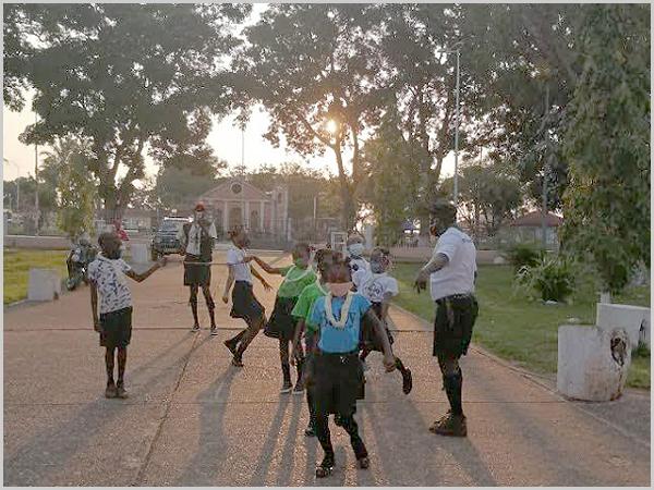Liberdade em África...