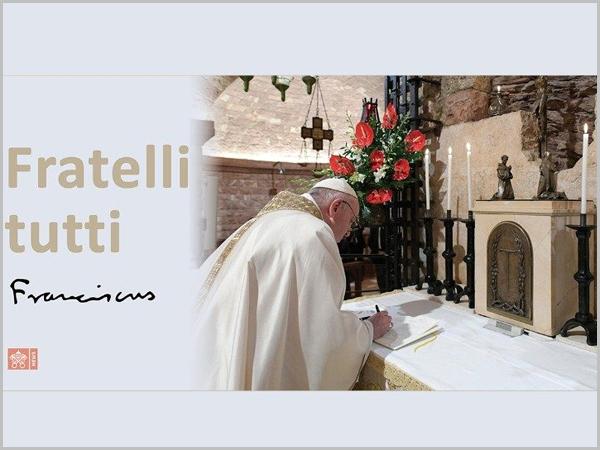 Papa Francisco assinou a Inciclíca «Fratelli Tutti» no túmulo de São Francisco de Assis