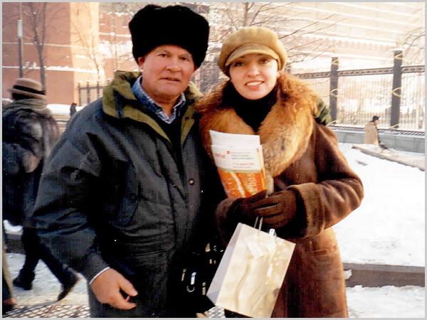 Franklim, de chabka, com a Ana