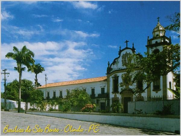 Basílica de São Bento em Olinda