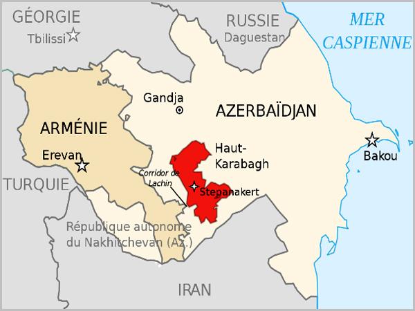 Mapa Alto-Carabaque