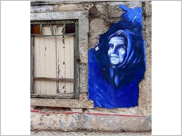 Pintura de rua em Santiago do Cacém