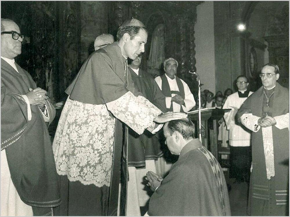 Ordenação de D. Manuel Martins pelo Cardeal Patriarcal D. António Ribeiro