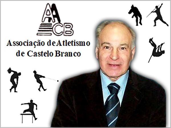 João Robalo Coelho, presidente da Associação de Atletismo de Castelo Branco