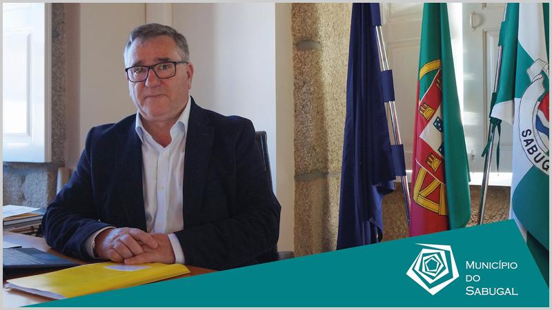 António dos Santos Robalo - Presidente da Câmara Municipal do Sabugal (foto: C.M. Sabugal) - capeiaarraiana.pt