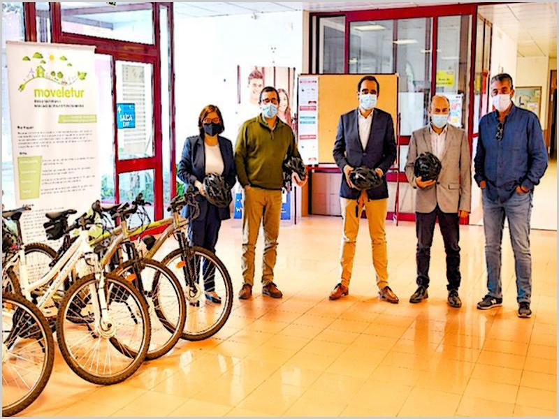 Politécnico de Castelo Branco: 4 bicicletas para o Sabugal