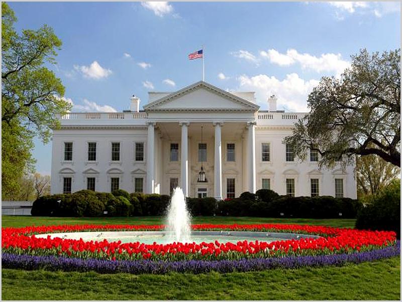 Fachada norte da Casa Branca em Washington - capeiaarraiana.pt