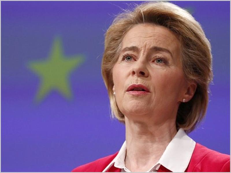 Ursula van der Leyen - Presidente da Comissão Europeia (foto: D.R.) - capeiaarraiana.pt