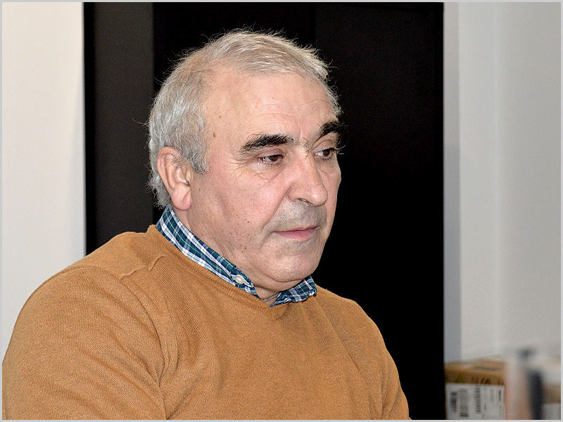 Luís Carlos Carriço - Presidente da Direcção da Associação Humanitária dos Bombeiros Voluntários do Sabugal - capeiaarraiana.pt