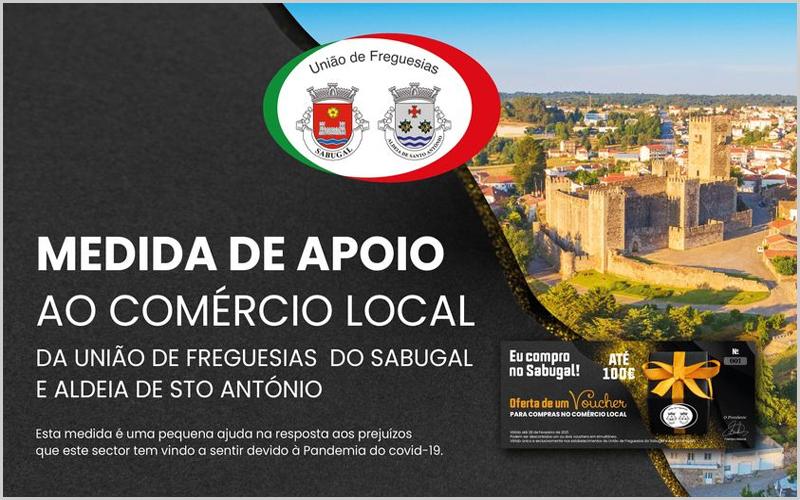 Campanha de Natal em tempo de pandemia da Junta da União de Freguesias do Sabugal e Aldeia de Santo António - capeiaarraiana.pt