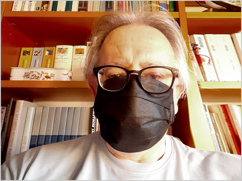 Vamos todos ser responsáveis - Máscara - Ramiro Matos - capeiaarraiana.pt