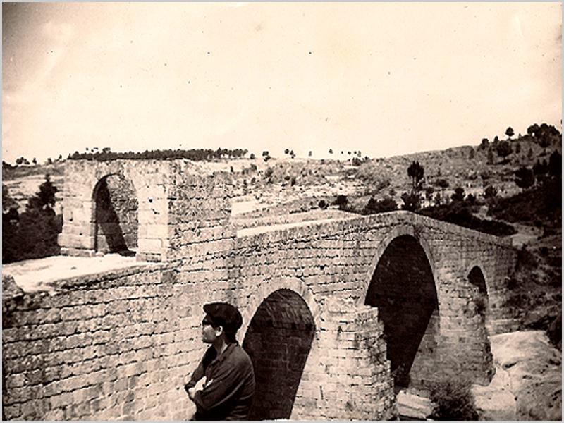 O padre Francisco dos Santos Vaz na Ponte de Sequeiros