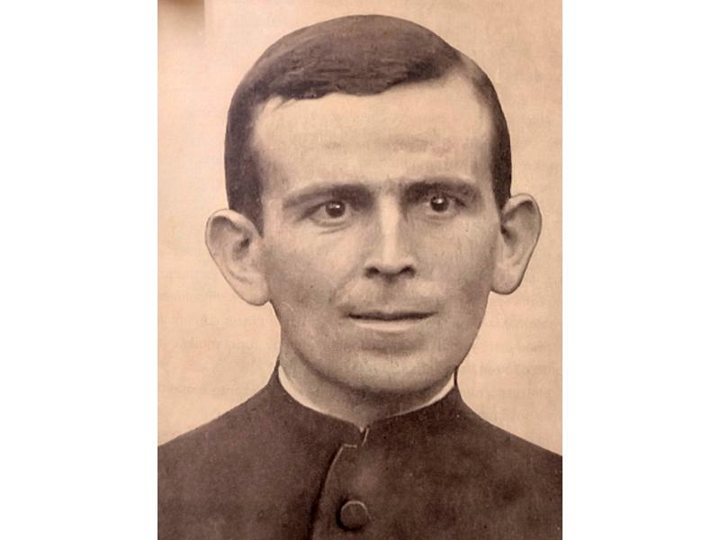 O sacerdote João Maria Haw