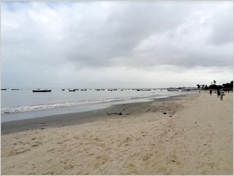 Uma tarde em Cacuaco (Angola)
