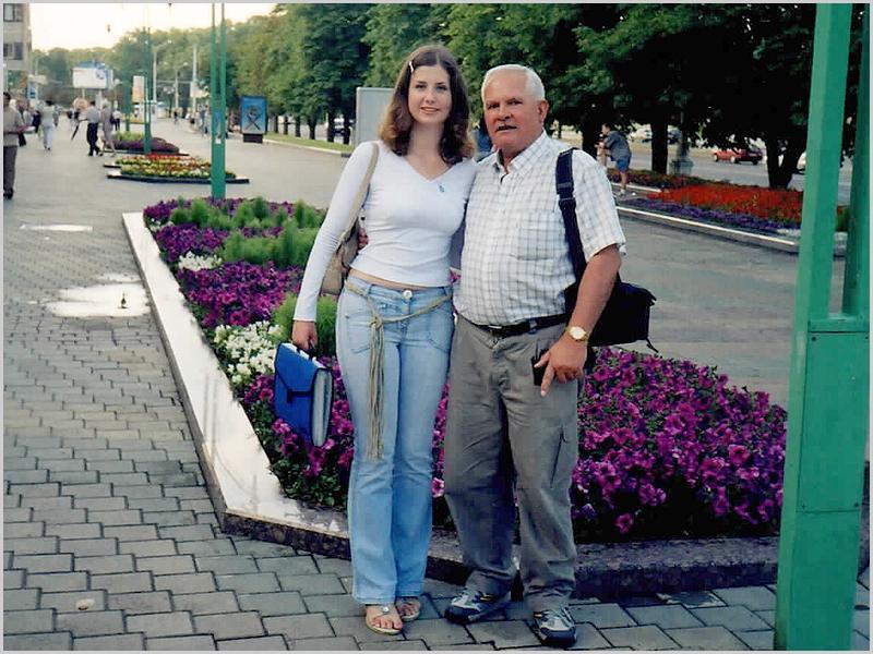 Franklim com a Olga