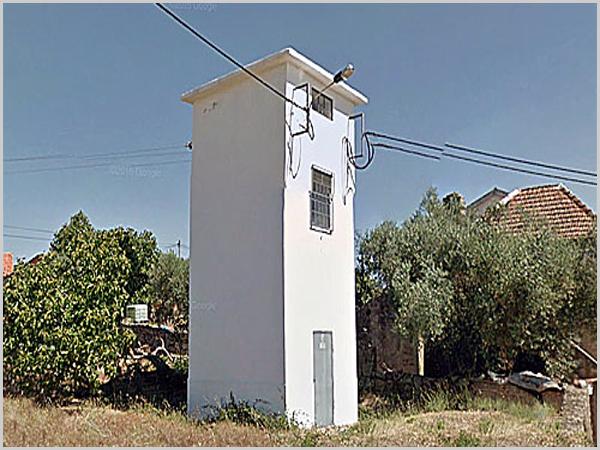 Cabina da electricidade da aldeia do Casteleiro