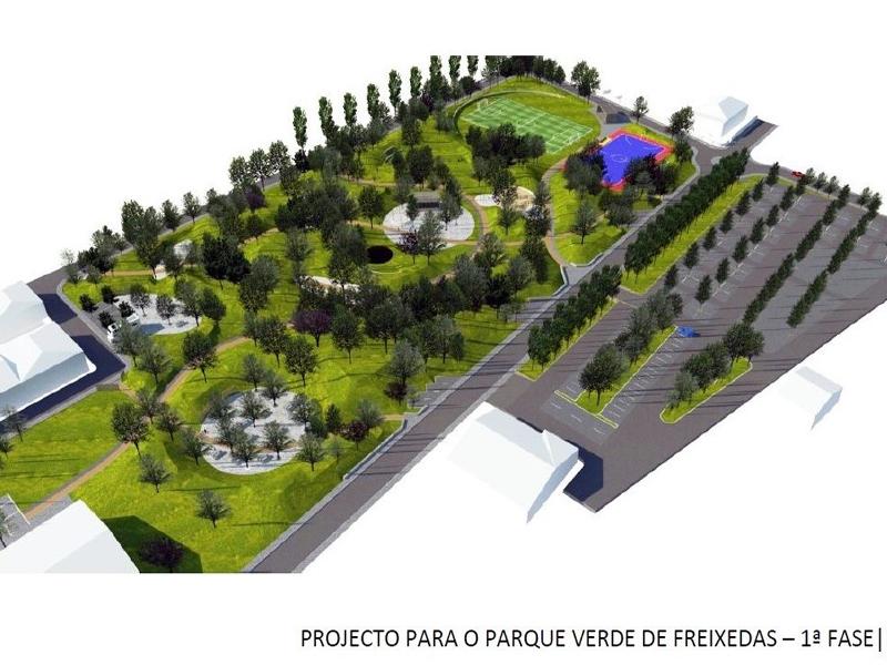 Pinhel vai ter mais um parque verde