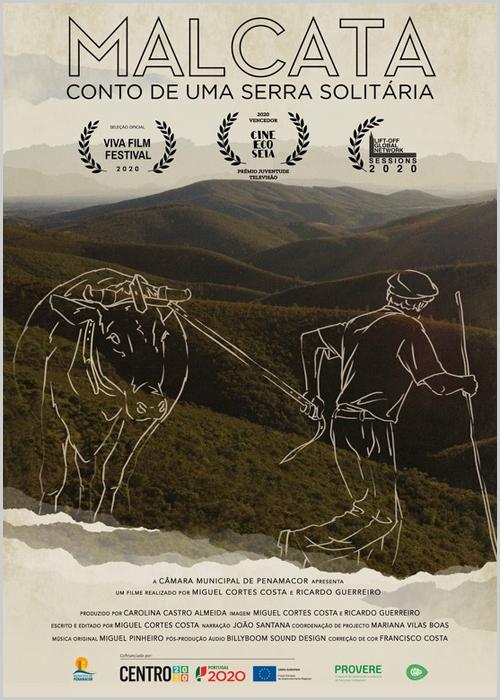 Cartaz do documentário «Malcata-Conto de uima serra solitária»