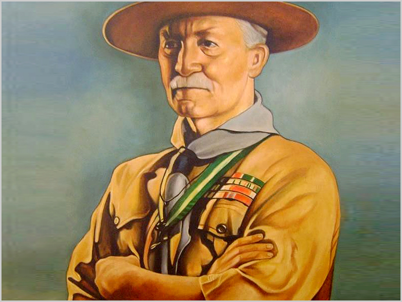 Robert Baden-Powell (1847-1941) - Fundador do movimento escutista mundial