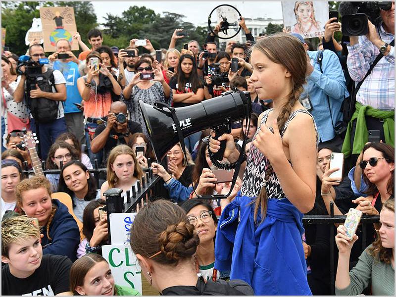 Activista ambientalista Greta Thunberg