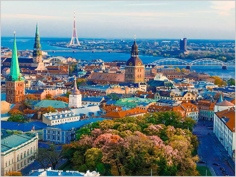 Tallin - capital da Estónia