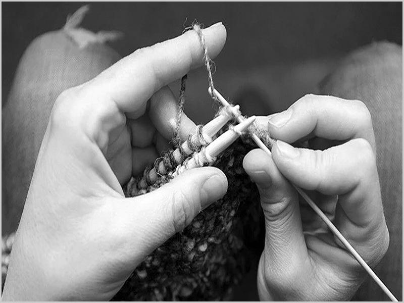 Agulhas para tricotar