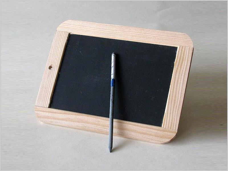 Para escrevermos, na escola, cada um tinha a sua pedra...