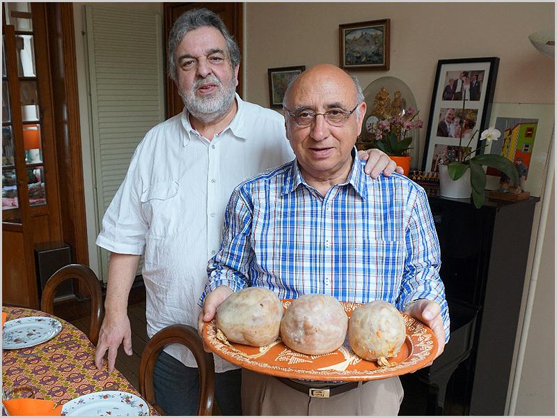 Almoço de Bucho Raiano em casa de Joaquim Tenreira Martins