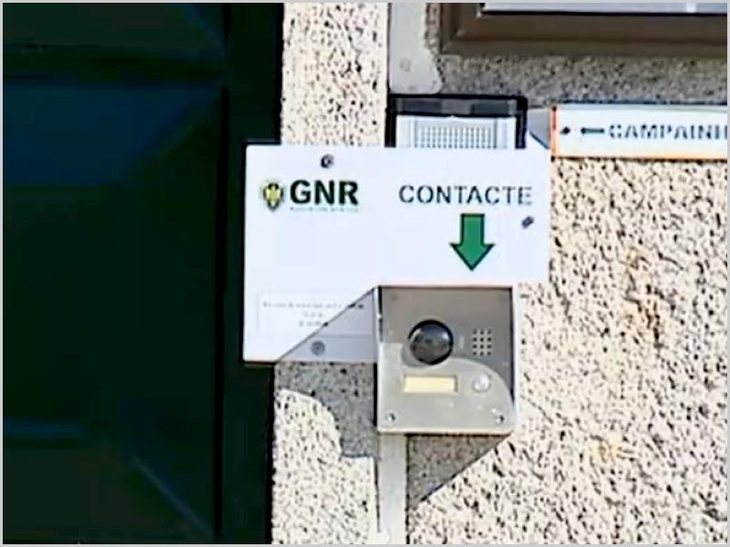 Sistema de videoporteiro nos postos da GNR