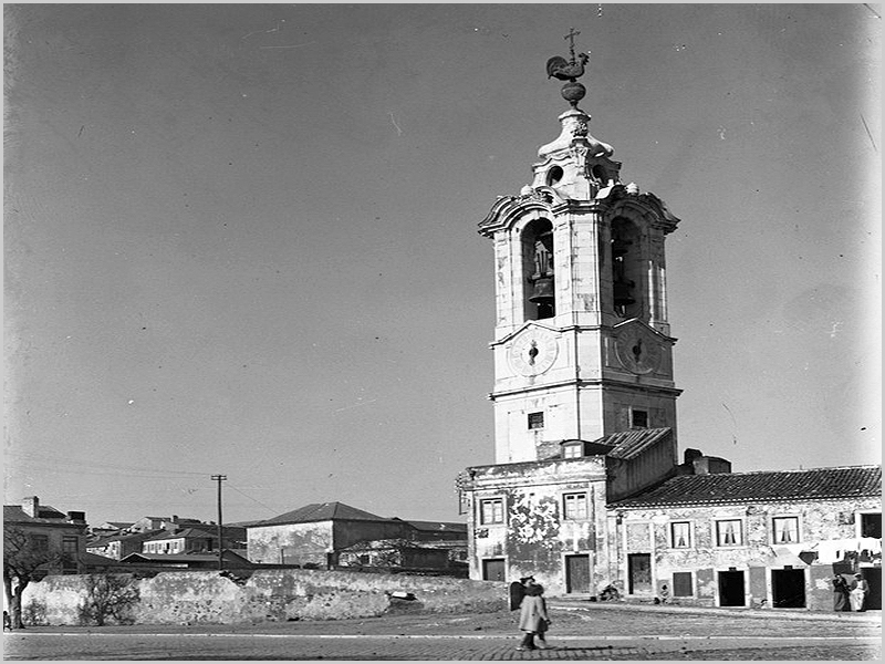 Rua da Torre junto ao Palácio da Ajuda