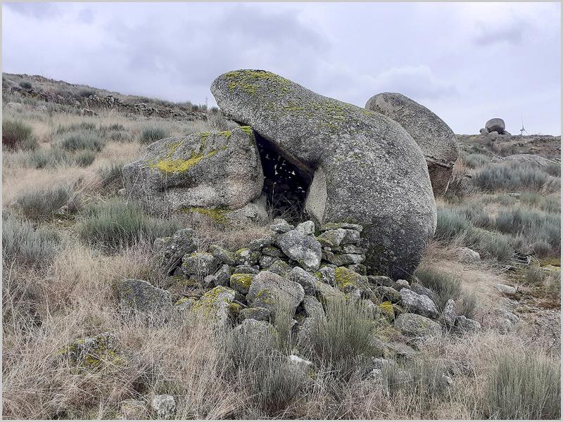 Antigo abrigo de pastores