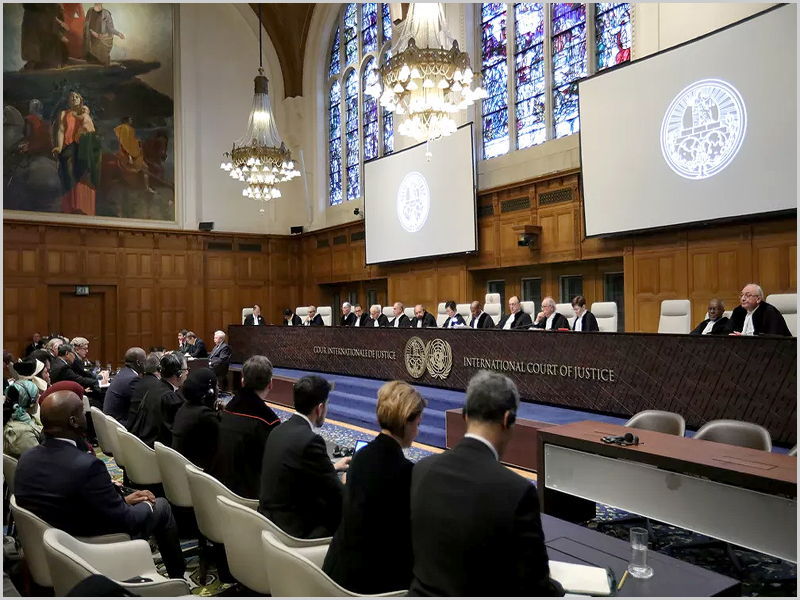 Tribunal Internacional de Justiça da ONU no Palácio da Paz em Haia (foto: D.R.)