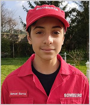 Samuel Barros - Bombeiro Voluntário do Sabugal